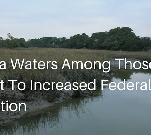 Georgia Waters Among Those Subject To Increased Federal Regulation